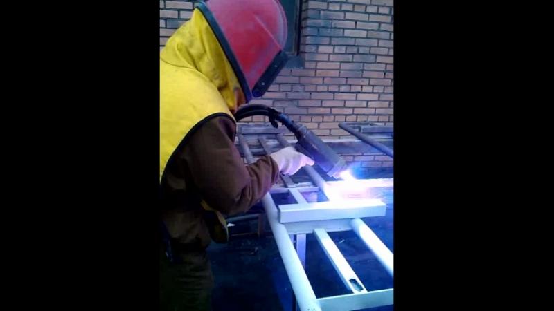Электродуговая металлизация (напыление цинка)