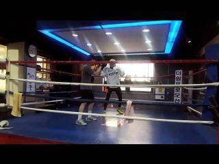 |180511| VIXX Leo @ thewon_boxing IG Story