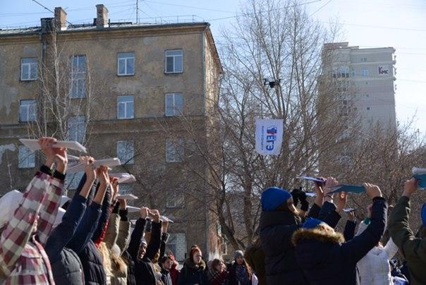 Всероссийская акция «100 баллов для победы», посвящённая под