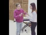 Владислав Курасов обучает актерскому пению студентов tv theatre studio act