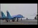 1 ноября 1989 года летчик-испытатель Виктор Пугачев впервые в истории отечественной авиации и ВМФ посадил самолет на палубу авиа