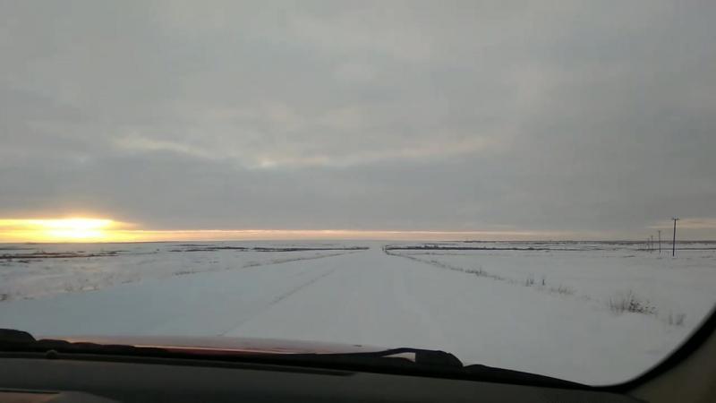 Дорога в Красное.