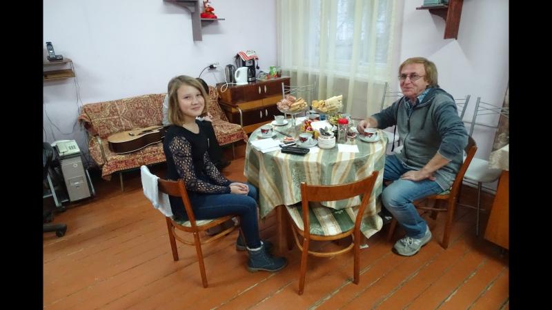 Интервью автора-исполнителя Виктора Попова для КАП Диалог г. Вязьма 18.11.2017