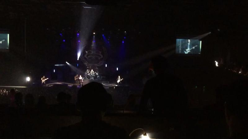 Я была на концерте группы stone sour в Москве