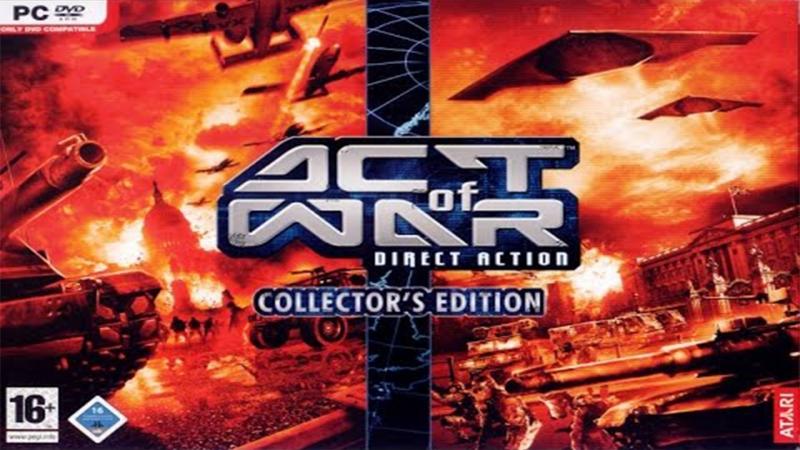 Act of War - Direct Action {1} - Старая Школа Стратегий - {VK}