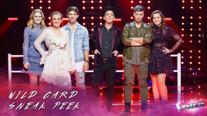 WILD CARD EXCLUSIVE REHEARSAL SNEAK PEEK (The Voice Australia 2018)