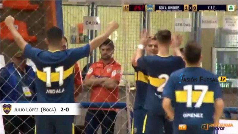 Pasión Futsal TV Boca 3-CRE (Bolivia) 0 (Libertadores 2018-Grupo A-Fecha 2) FUTSAL FIFA