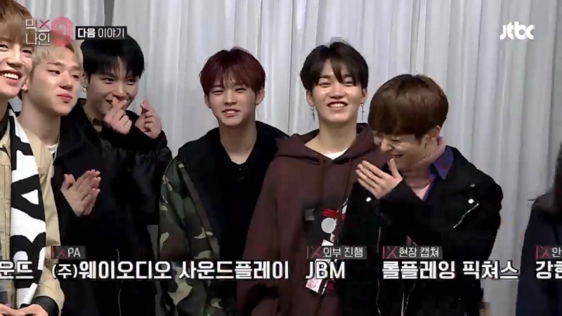 180114 • Behind 'Concert Big Bang' with MIXNINe • ONF