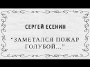 Сергей Есенин — Заметался пожар голубой(Как умеет любить хулиган)COVER