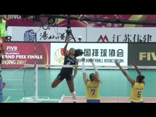 Top 7 Best Actions FIVB World Grand Prix 2017