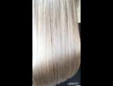 Холодный блонд от стилиста-парикмахера Марии.