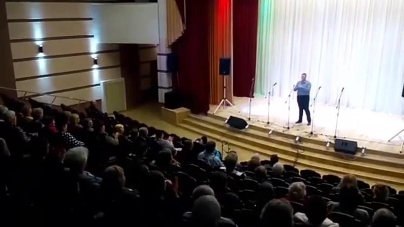 Концерт в санатории Белая Вежа (п.Приозерский)