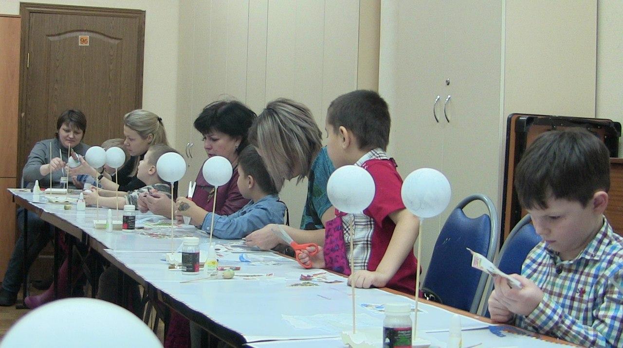 """новогодний мастер-класс в студии """"Развитие"""""""