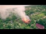Пожар на северо-востоке Санкт-Петербурга #V_PRO_studio