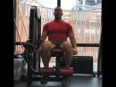Денис Семенихин тренирует НОГИ!!