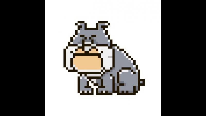 Плюшевый пёсик