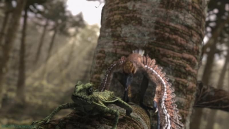 BBC Планета динозавров 7 Совершенные убийцы Познавательный история палеонтология 2012