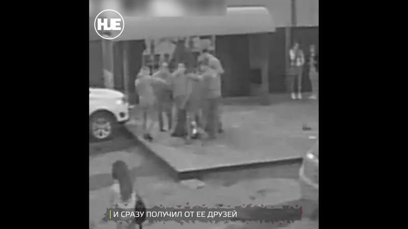 В Ленинске-Кузнецком пьяный прохожий напал с монтировкой на девушку возле бара