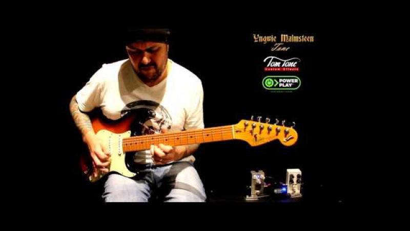 Yngwie Malmsteen guitar tone !