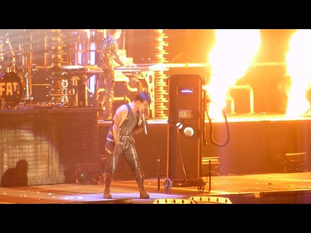 Rammstein-Benzin Madison Square Garden 11/12-2010