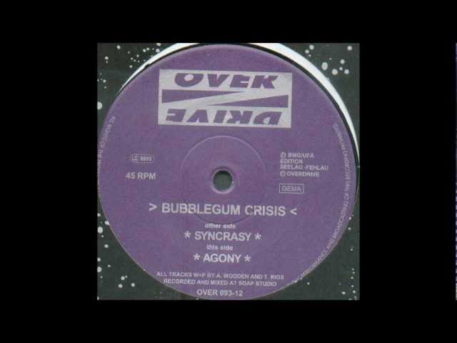 Bubblegum Crisis - Agony (Techno 1996)