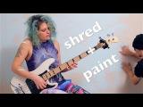shredding bass Adrian Belew Power Trio's