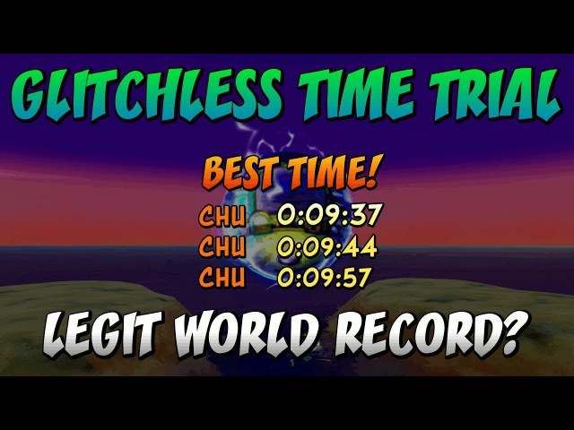 [Legit WR?] Hot Coco (0:09:37) [No Glitch] Platinum Relic - Crash Bandicoot N. Sane Trilogy