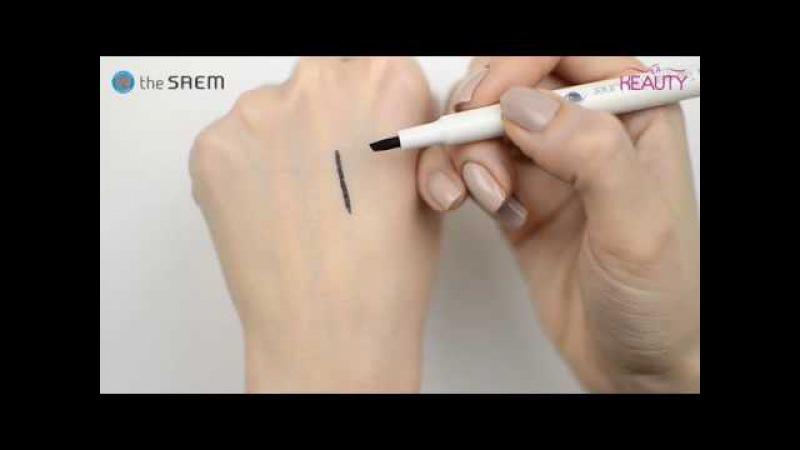 Тинт-лайнер для глаз The Saem Saemmul Tail-Pen Tint Liner