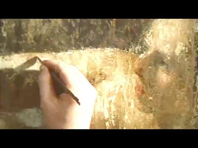 Даная Рембрандта после нападения вандала | Программа Время, эфир 16.03.1986 г.