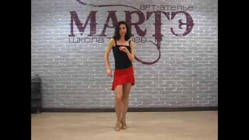 Сальса. Как научиться быстро танцевать сальсу? Урок Алеси » Freewka.com - Смотреть онлайн в хорощем качестве