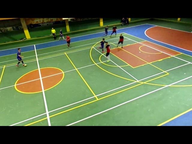 Катрапс- Интер 5-3, чемпионат г. Орла по мини-футболу. 24 декабря 2017 г. 9-16 места