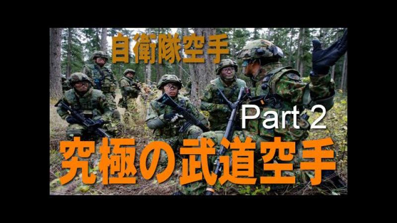 究極の武道空手(自衛隊空手 )Part2 沖縄空手を継承
