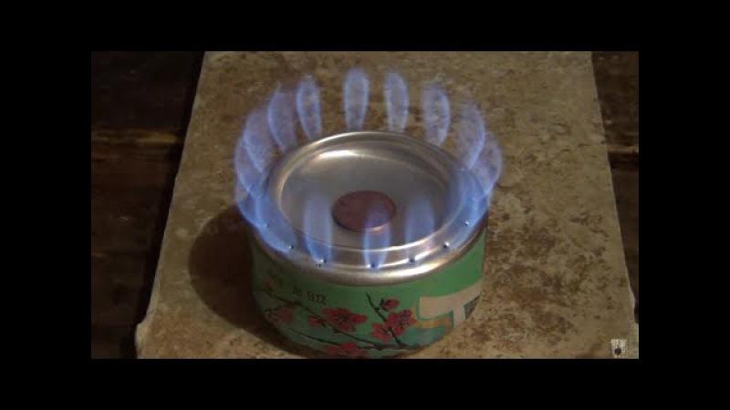 Arizona penny can alcohol stove