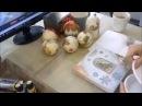 Декор шара и панно с помощью глиттеров урок Натальи Климентьевой