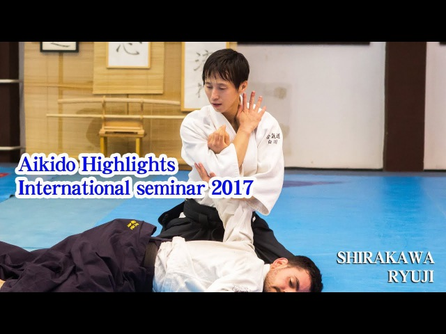 白川竜次先生の合気道2017(世界編)2017 International Aikido Seminar of Shirakawa Ryuji shihan