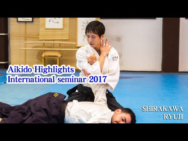 白川竜次先生の合気道2017(世界編)2017 International Aikido Seminar of Shirakawa Ryuji shihan