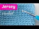 Punto jersey a crochet