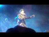 Adam Lambert Gridlock NYE 2010 Soaked