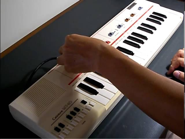 Casio Casiotone MT-40 demo[organ69]