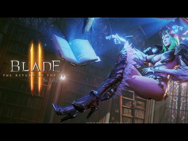 Blade II for Kakao Gameplay Preview Mobile Action RPG