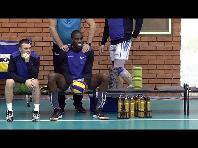 Волейбол Камехо Разминка без мячей