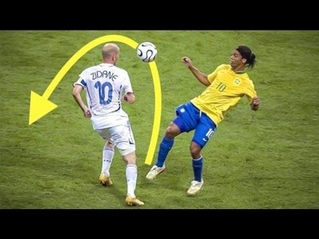 Только РОНАЛЬДИНЬО мог делать ЭТО! Топ 10 навыковфинтов в футболе