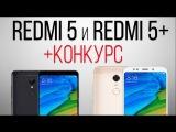 Xiaomi Redmi 5 и Redmi 5 Plus - МЕГАХИТЫ 2017 года + розыгрыш