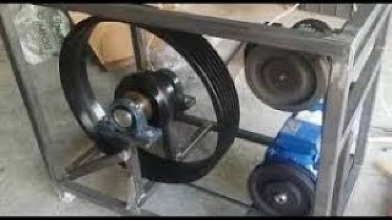 Flywheel Free Energy Generator for Free Electricity