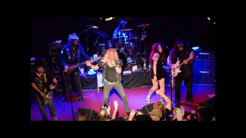Black oak arkansas plug in and wired 42 yrs later,at the whiskey a go go