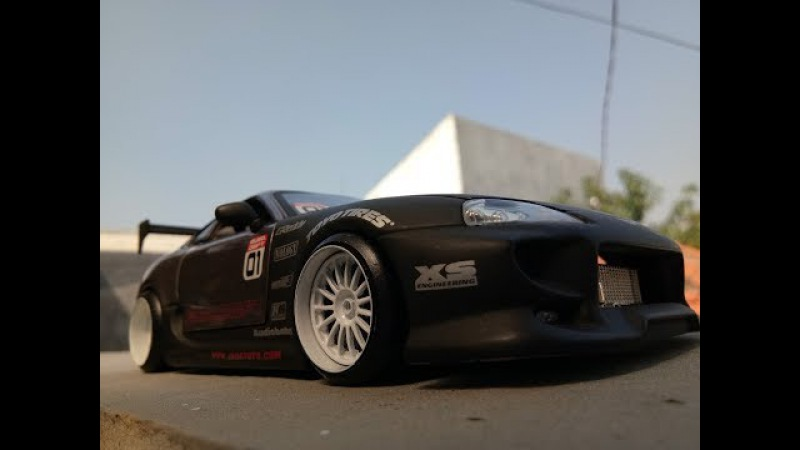 Jada Toys Toyota Supra Euro Drift - Option-D Super Rare