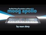 The Moog Apollo (Bob Moog Foundation archives) History