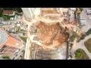 Начало строительства небоскрёба в Самаре 4к 11.09.2017. ЖК Центральный