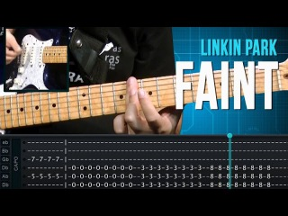 Linkin Park - Faint (como tocar - aula de guitarra)