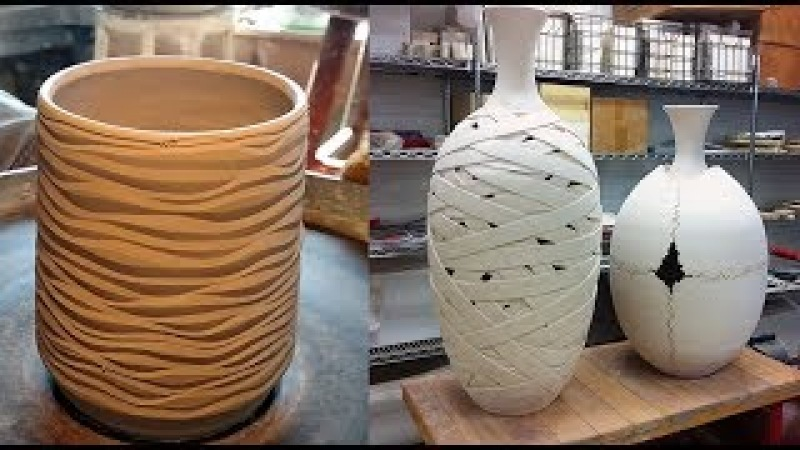 Amazing Pottery Art Compilation 2018 - People With Amazing Talent and Skill - Oddly Satisfying Video
